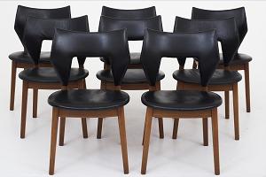 Spisebordsstole brugte
