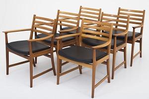 Spisebordsstole brugt